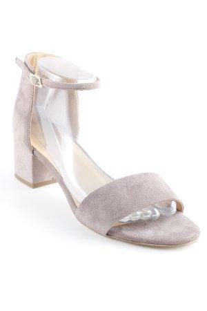 Cox Riemchen-Sandaletten graubraun Elegant