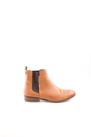 Cox Slip-on Booties light orange-brown casual look