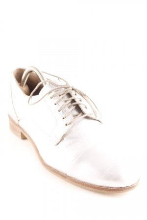 Cox Lace Shoes silver-colored elegant