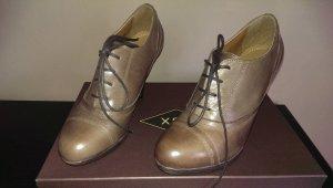 Cox Schuhe Leder Neu ohne Etikett Originalkarton Braun