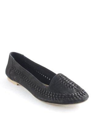 Cox Slipper schwarz Elegant