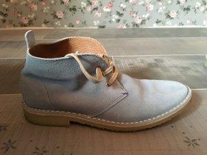 Cox Sneaker hellblau beige Gr. 37