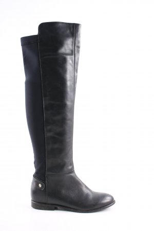 Cox Stretch Boots black casual look