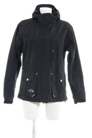 Cox Übergangsjacke schwarz Casual-Look