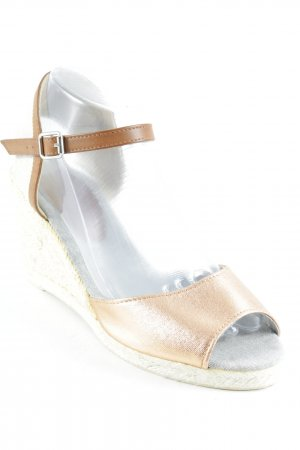 Cox Wedge Sandals multicolored beach look