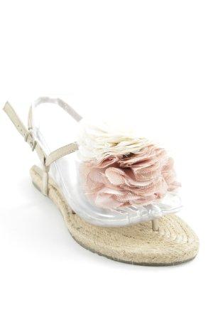 Cox Zehentrenner-Sandalen mehrfarbig Romantik-Look