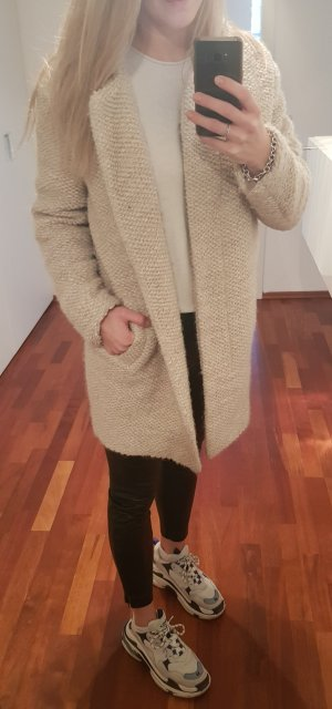 Closed Oversized Coat natural white-oatmeal