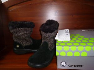 Crocs Boots multicolored suede