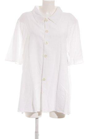CP SHADES SAUSALITO Kurzarm-Bluse weiß klassischer Stil
