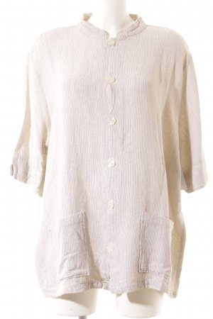 CP SHADES SAUSALITO Short Sleeve Shirt cream-beige flecked retro look
