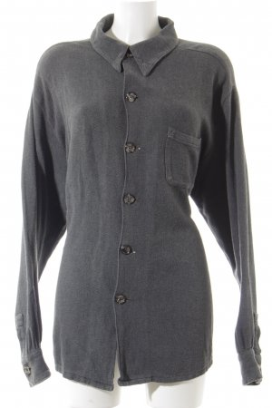 CP SHADES SAUSALITO Langarmhemd dunkelgrau meliert Street-Fashion-Look