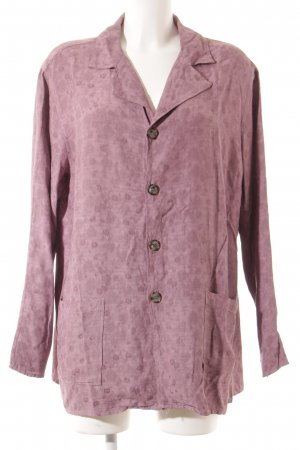 CP SHADES SAUSALITO Camisa de manga larga lila estampado floral look retro