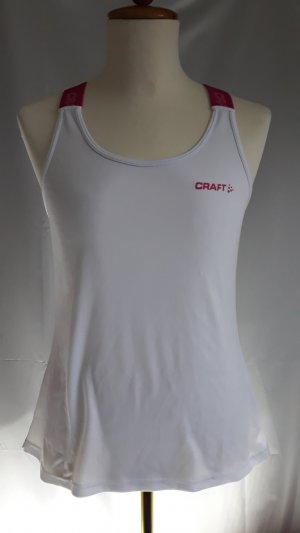 Craft Sporttop wit-roze