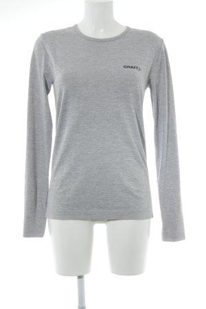 Craft Sportshirt grau meliert sportlicher Stil
