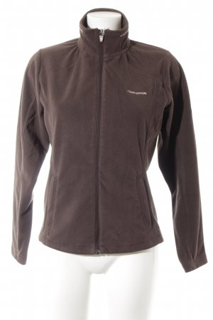 Craghoppers Giacca in pile marrone scuro stile casual