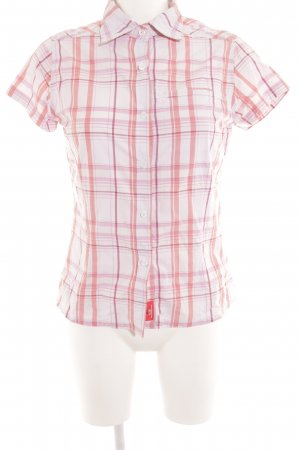 Craghoppers Kurzarm-Bluse Karomuster Casual-Look