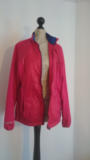 Fleece Jackets raspberry-red-blue synthetic fibre