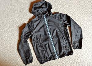 Crane Windbreaker black-azure polyester