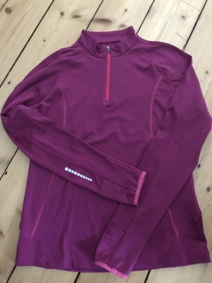 Crane Sports Shirt violet-magenta polyester