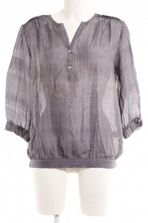 Crash-Bluse graublau Casual-Look