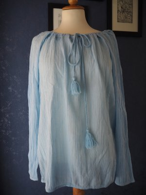 Esprit Crash Blouse light blue cotton