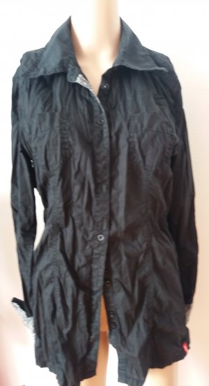 Esprit Crash Blouse black cotton