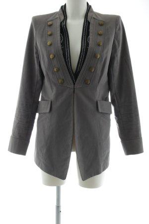 cravefame by almost famous Veste militaire gris clair-noir style extravagant