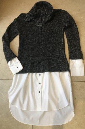 Crea Concept Gr 38 Hemdbluse Woll Pullover Luxus