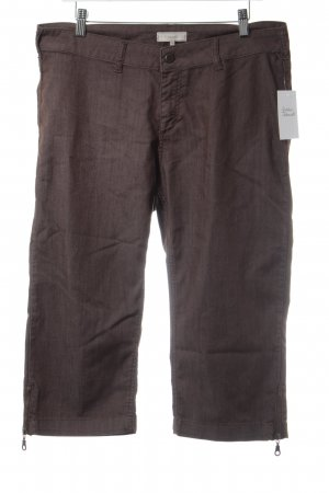 Cream 3/4 Length Trousers light brown casual look