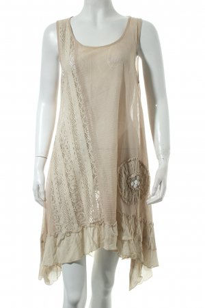 Cream A-Linien Kleid beige Casual-Look