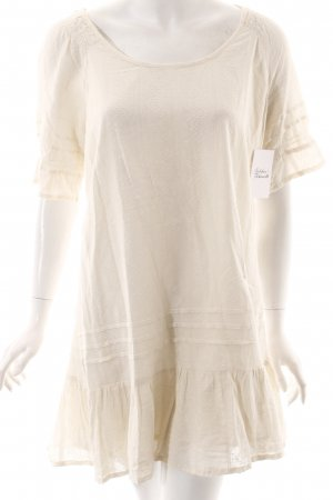 Cream A-Linien Kleid creme Beach-Look