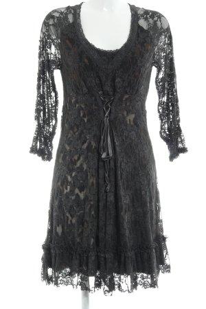 Cream A-Linien Kleid mehrfarbig extravaganter Stil