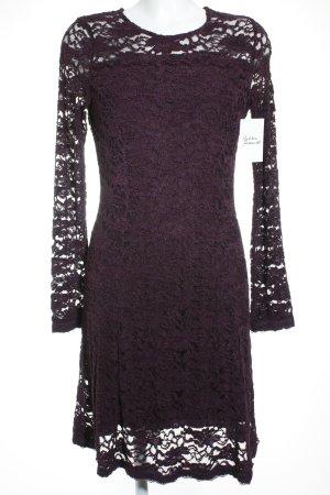 Cream Abendkleid dunkelviolett Elegant