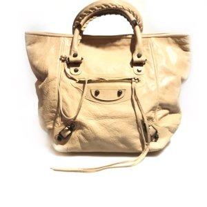 Cream Balenciaga Shoulder Bag