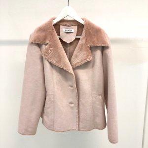 Cream Balmain Coat
