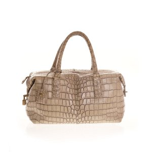 Cream Bottega Veneta Shoulder Bag