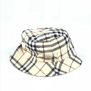 Cream Burberry Hat
