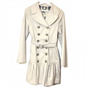 Cream Burberry Trench Coat