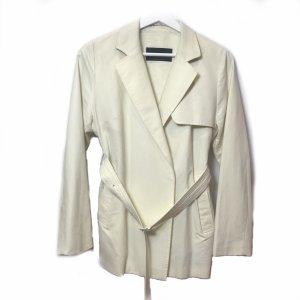 Cream Burberry Trench Coat