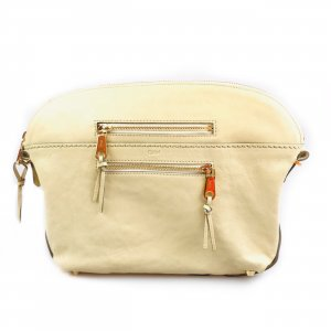 Cream Chloe Clutch