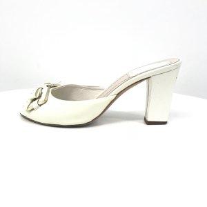 Cream Dior Flip Flop