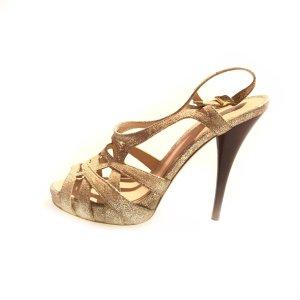 Fendi High-Heeled Sandals cream
