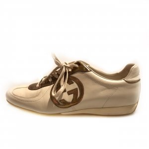 Cream Gucci Sneaker