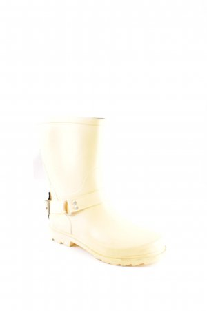 Cream Gummistiefel gelb Country-Look