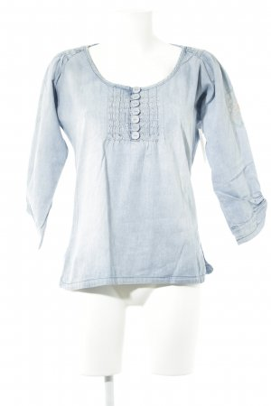 Cream Hemd-Bluse himmelblau Casual-Look