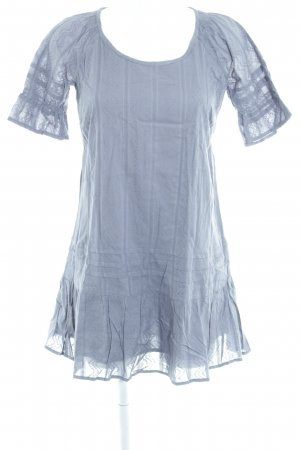 Cream Hippie Dress slate-gray hippie style
