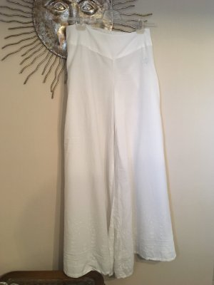 Cream Marlene Trousers white