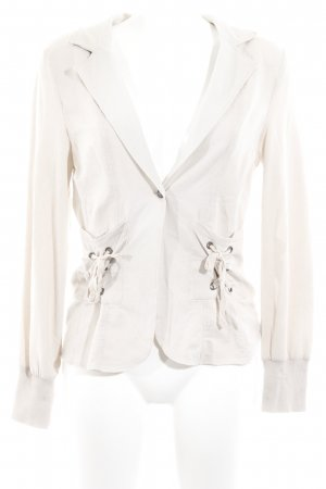 Cream Jerseyblazer creme Casual-Look