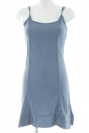 Cream Jerseykleid blau Zopfmuster Casual-Look