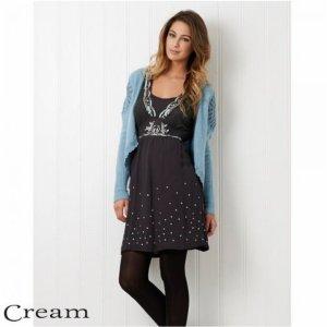 Cream Kleid 36/s wie neu